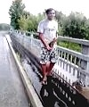 Pissing Off A Bridge