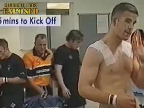 josh lewsey shaking his cock