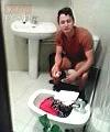 Caught On The Toilet