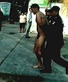 Naked Man Arrested