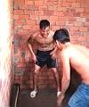 Naked Tattoed Asian Lad