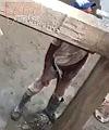 Pissing Workman