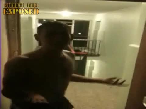 lad runs naked