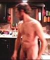 Naked Man Washing Up