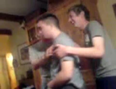 lad gets kegged