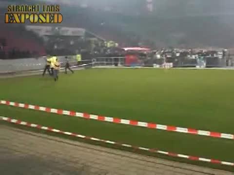 streaker in stadium