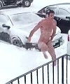 Naked Snow Angel
