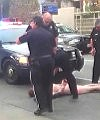 Police Let Naked Man Lay In The Middle Of The Street