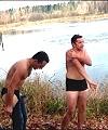 Russian Lads Skinny Dip