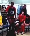 Black Man Caught Naked