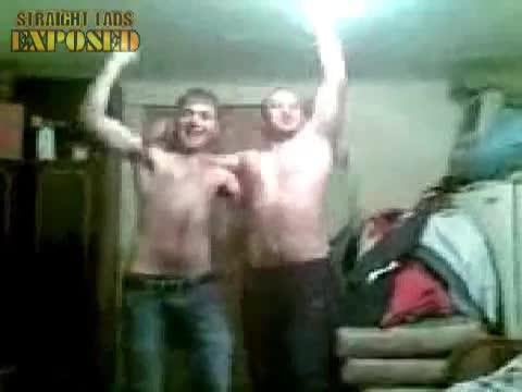naked lads horseplay