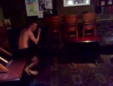 lads wrestle naked