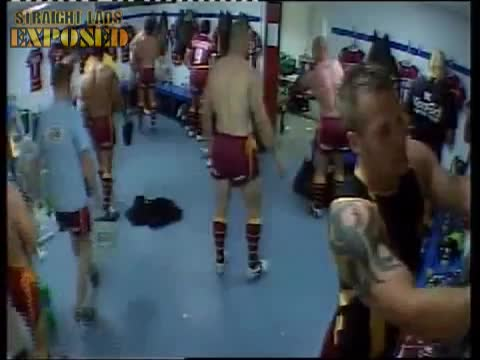 huddersfield giants players in locker room