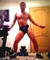Lad Dances Naked At Home