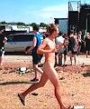 Open Flair Festival Streaker