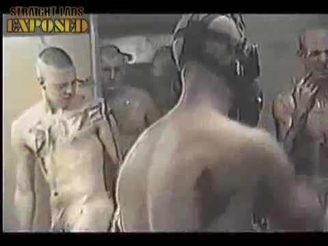 naked marines training