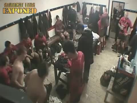 player naked in locker room