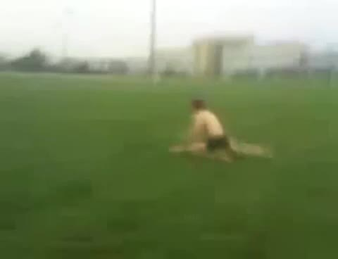 rugby player runs naked