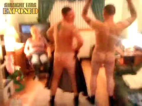 party lads strip naked