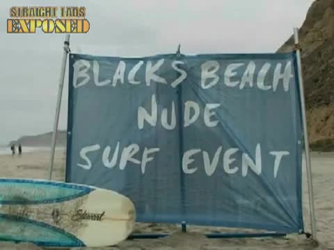 Blacks Beach Nude Surf Event 2009