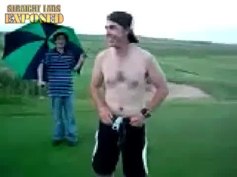 naked golf course