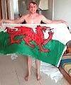 Welsh Flag Lad