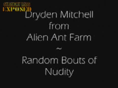 dryden mitchell gets naked