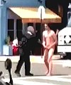 White Man Naked Out In Public