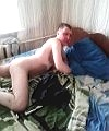 Lad On The Bed