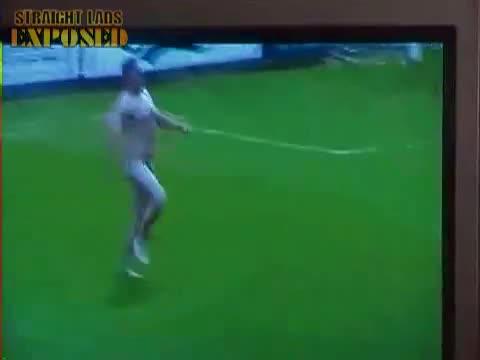 Havant cup final streaker