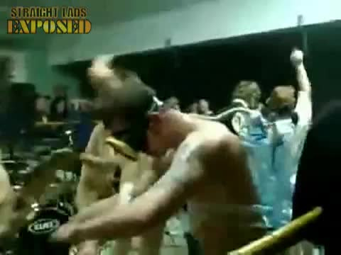 nude lads in boxing ring