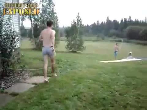 janiec's naked slip slide