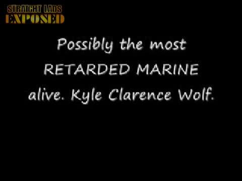 marine has a wank