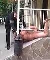 Arrested Naked