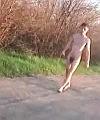 Naked Man Walking