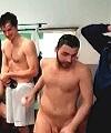 Footballer Caught Naked