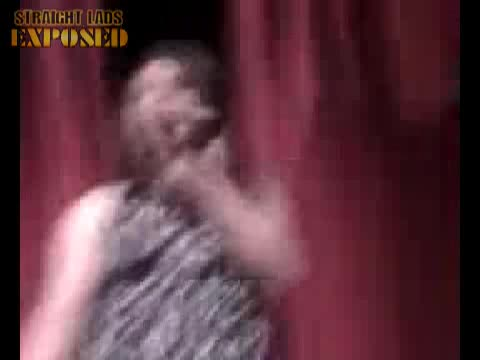 naked man talent show