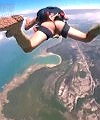Naked Skydive