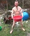 Russian Garden Naked Man