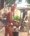Washing In The Garden