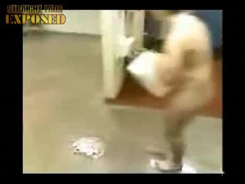 Slip n  Slide naked