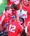 Cork Players Peeing On The Pitch