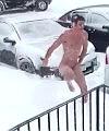 Naked Snow Angel