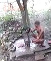 Naked Man Outdoors