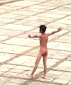 Asian Lad Dancing