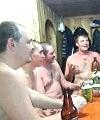 Older Men In The Sauna