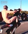Naked Motorbiker