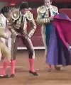 Matador Stripped By Bull