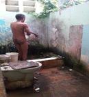 Naked Man Washes
