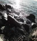 Naked Man On The Rocks